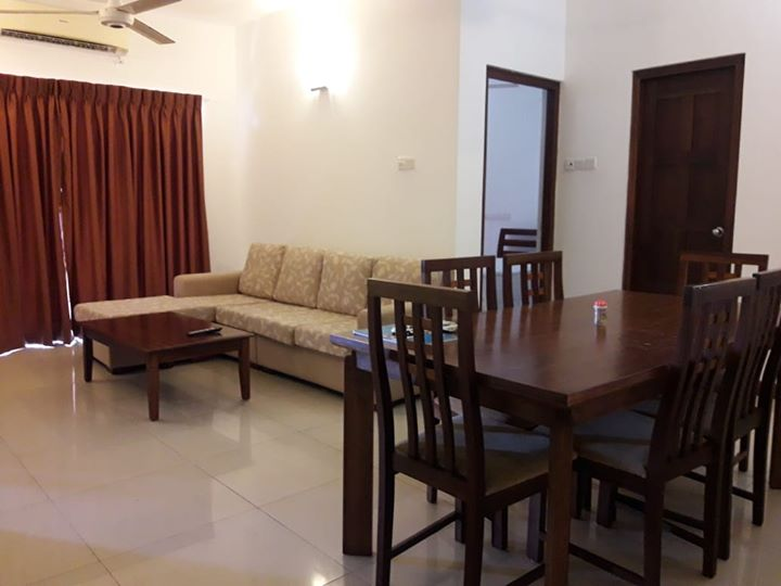 furnished apartment for rent in sea avenue kollupitiya