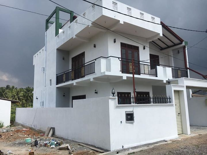 architect designed two story house for sale at Athurugiriya
