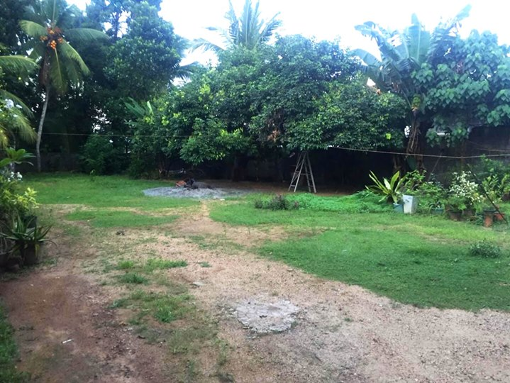 land with old house for sale in nawagamuwa