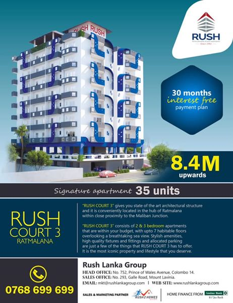 luxury apartments for sale in rathmalana