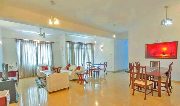 Spacious Apartment for Rent in Colombo 02