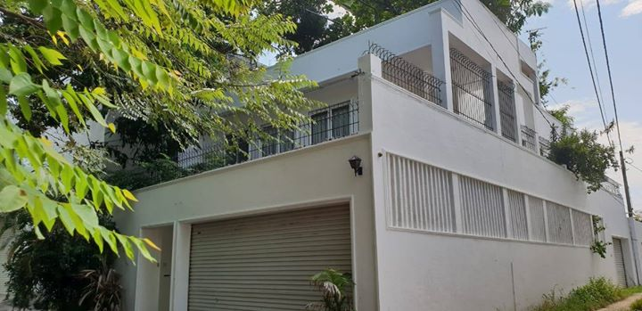 Architect designed 2 story House with roof top garden for sale in Rajagiriya