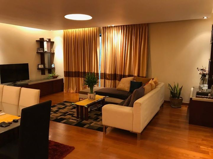 Spaciously Furnished 3 Bedroom Apartment for Long Lease @ Empire Residencies-Colombo 2
