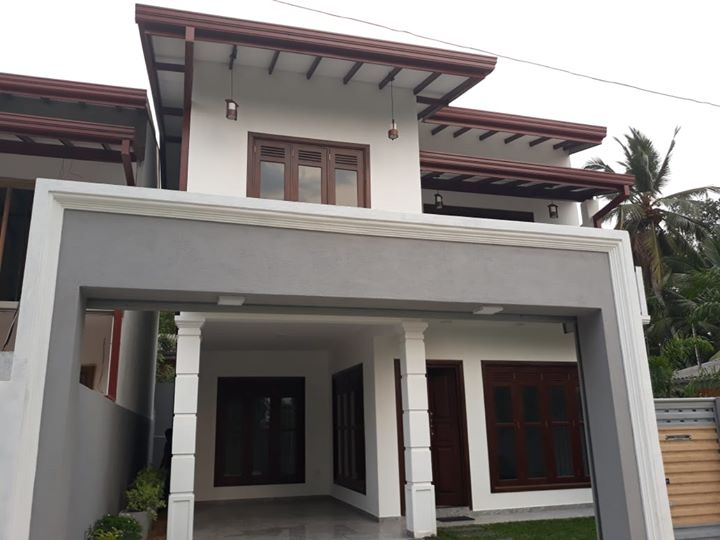 Strongly designed spacious 2 storied Brand new luxury house for immediate sale in Kottawa