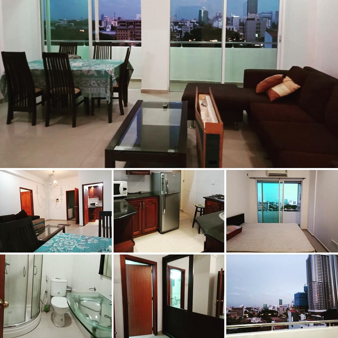 3 Bedroom Fully Furnished Apartment for Rent at Colombo 3