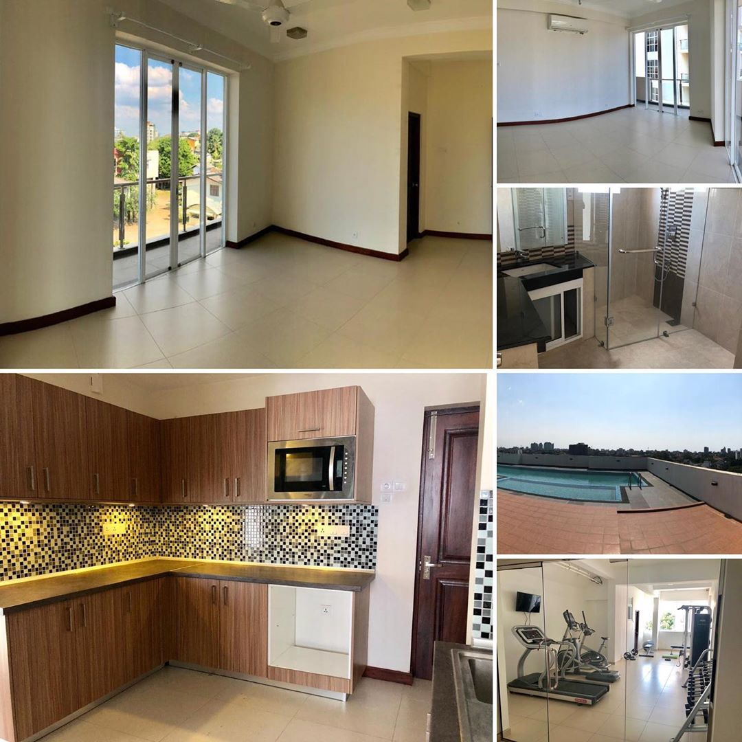 Unfurmished 3 bedroom apartment for rent at Trillium Colombo 7