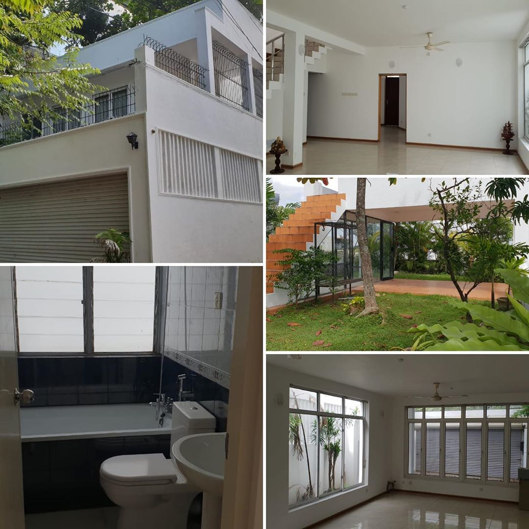 Architect designed 2 story House with roof top garden for sale in Rajagiriya,