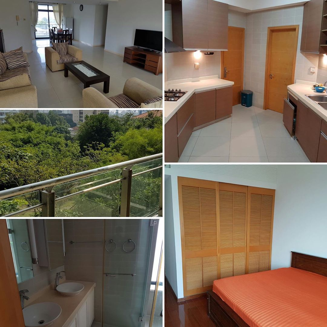4 Bedroom apartment for rent at havelock city Colombo 5