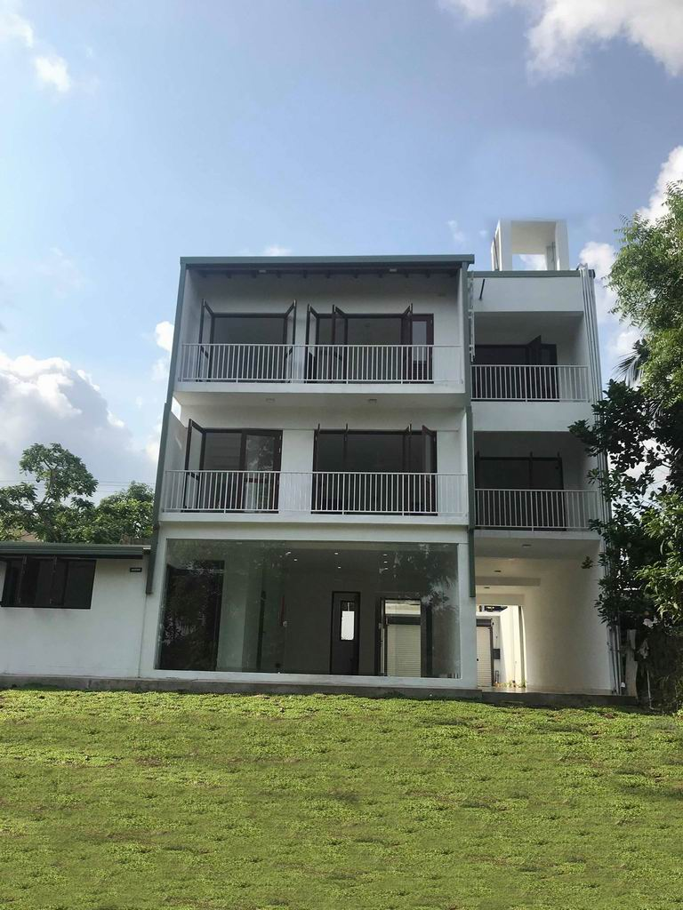 Brand New 3 Story House facing Lake  for Sale at Rajagiriya
