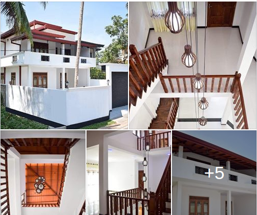 Beautiful 6 Bedroom Luxury House with 6 Bathrooms built on 12 perches for Sale in Malabe